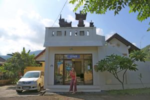 Main Entrance Bali Fab Dive Center